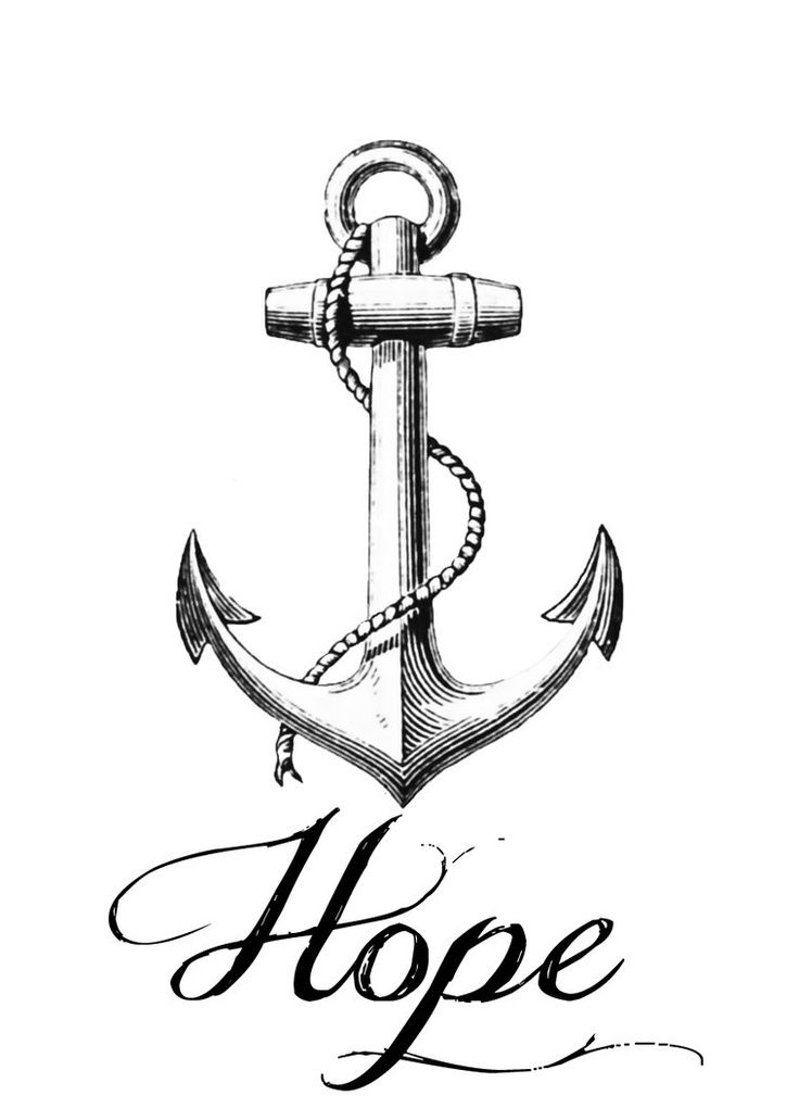 Anchor clipart anchored. Best jesus my