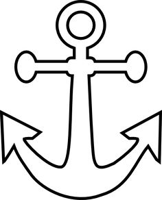 Anchor clipart colored. Draw an pinterest rock