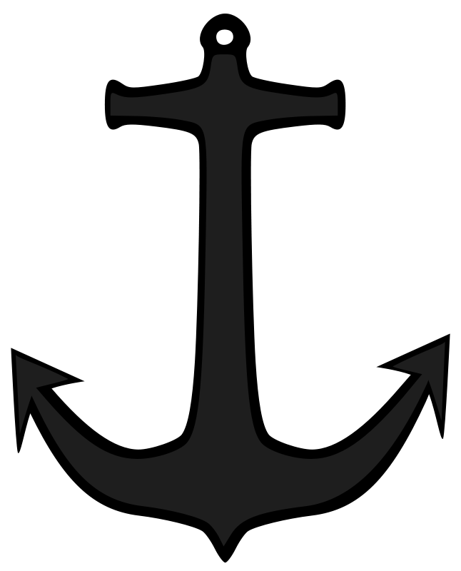 Anchor clipart sailboat. Boat clip art for