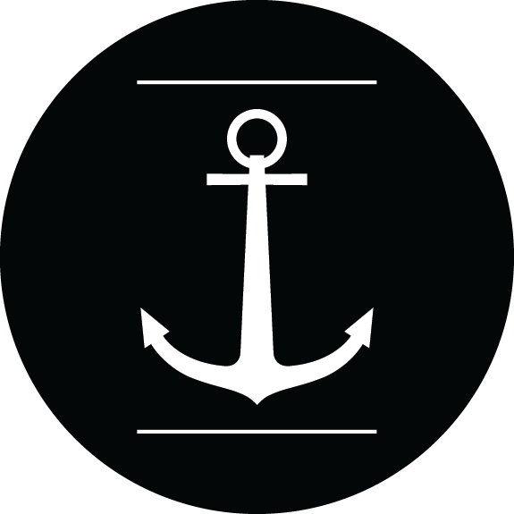 Anchor logos png. Sea life nautical motifs