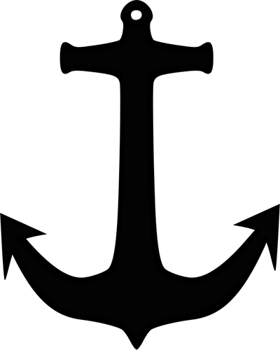 Anchor silhouette png. Image