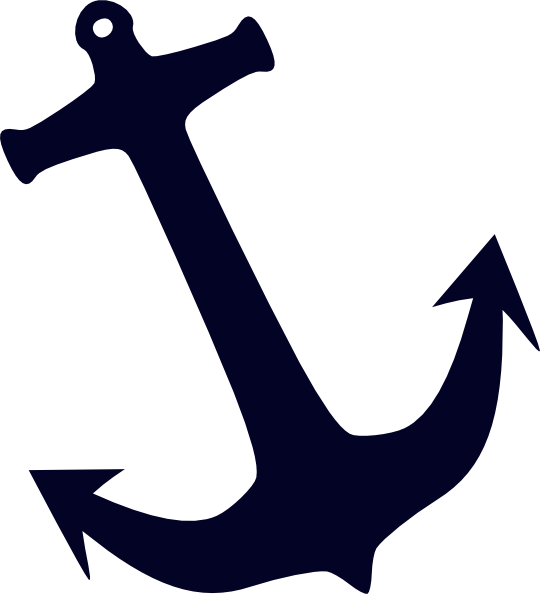 Anchor silhouette png. Clip art at clker