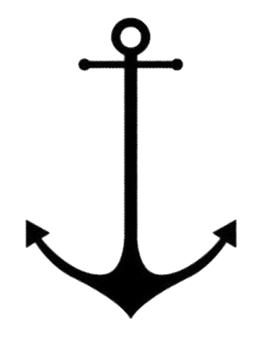 Anchor with banner png. Free tattoos transparent images