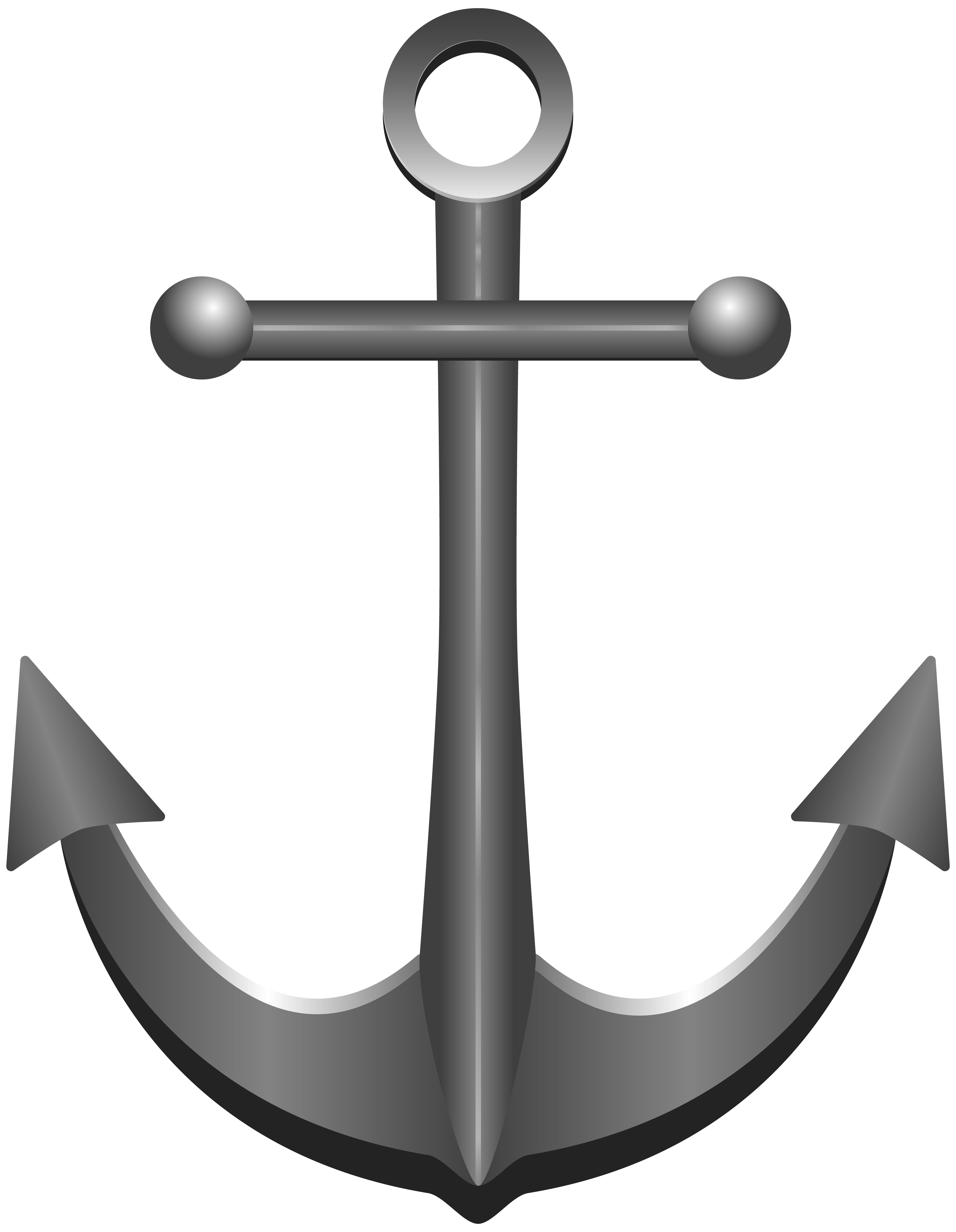 Anchor with banner png. Transparent clip art image