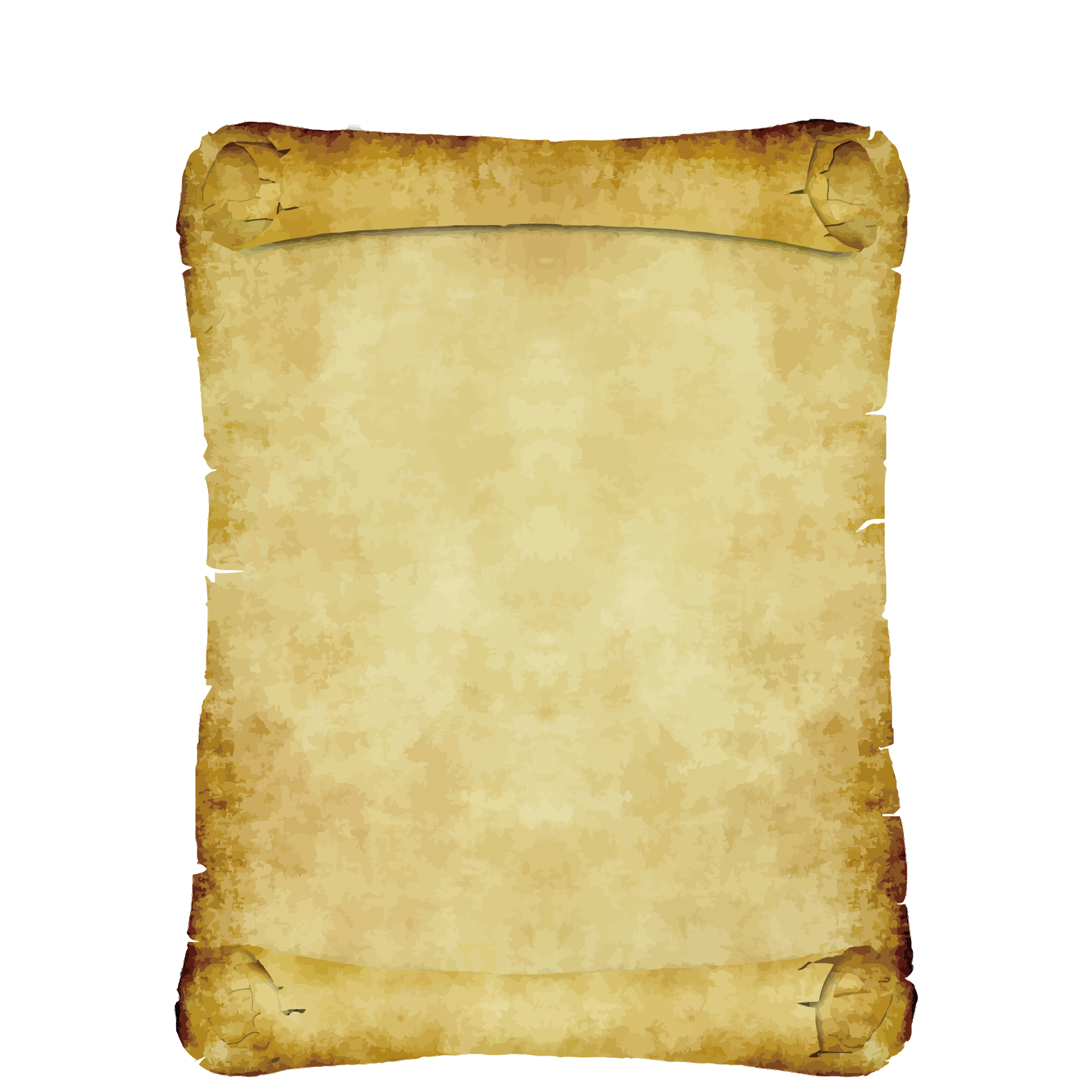 Ancient parchment png. Material transprent free download