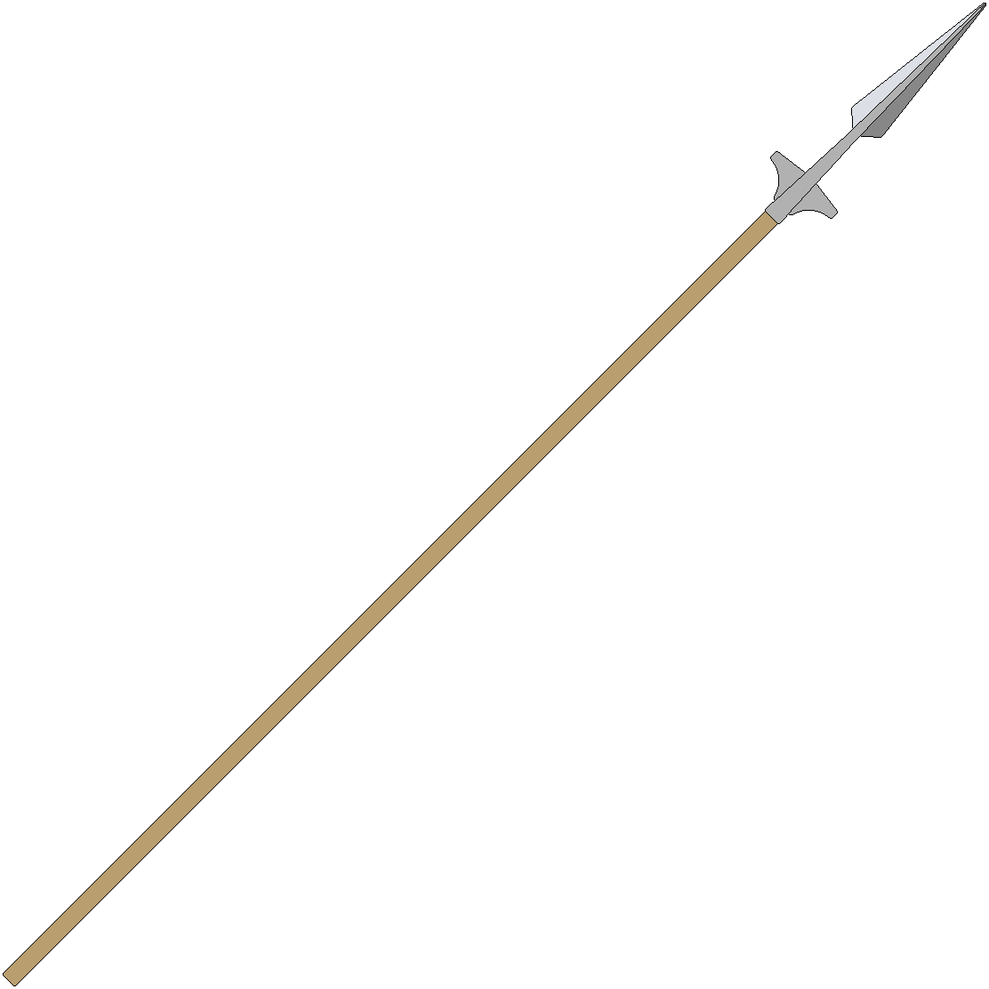 Ancient spear png.