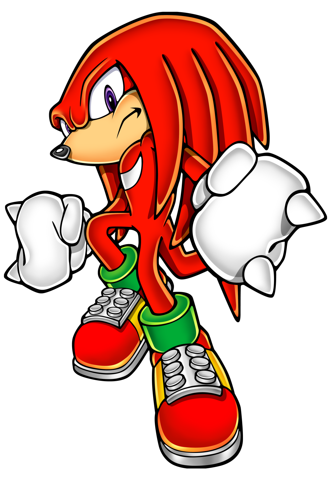 And knuckles png. The echidna gallery official