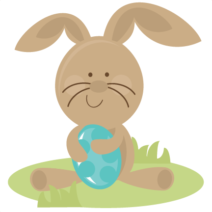 And svg bunny. Easter holding egg cutting