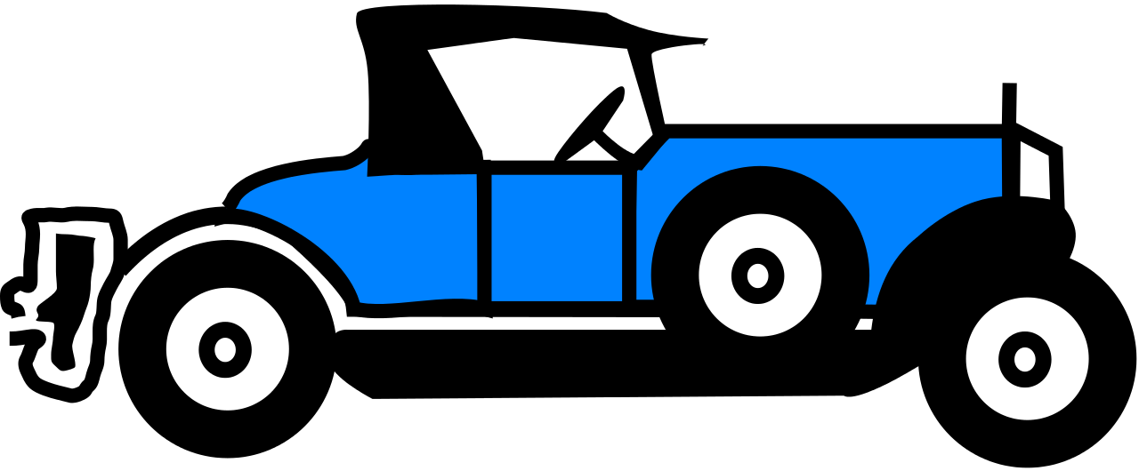 And svg car. File blue old wikipedia
