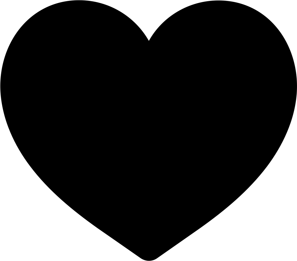 And svg heart. Like of filled png