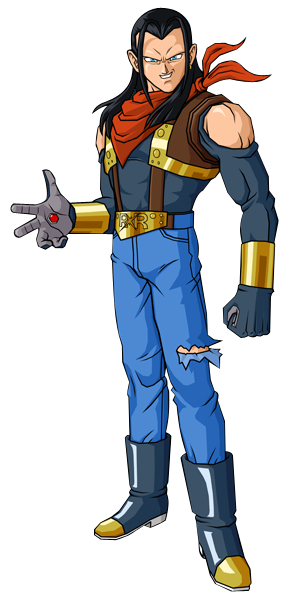 android 17 png