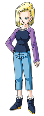 Android 18 png. Dragon ball fighterz androidresurrectionfartpng