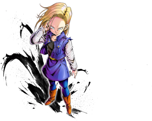 Android 18 png. Download hd character tier