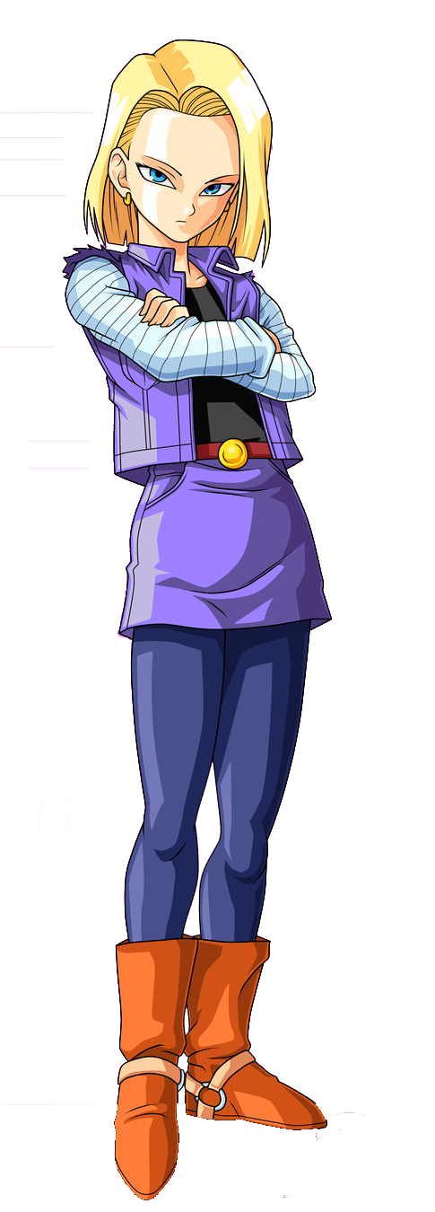 Android 18 png. Image dragon ball z
