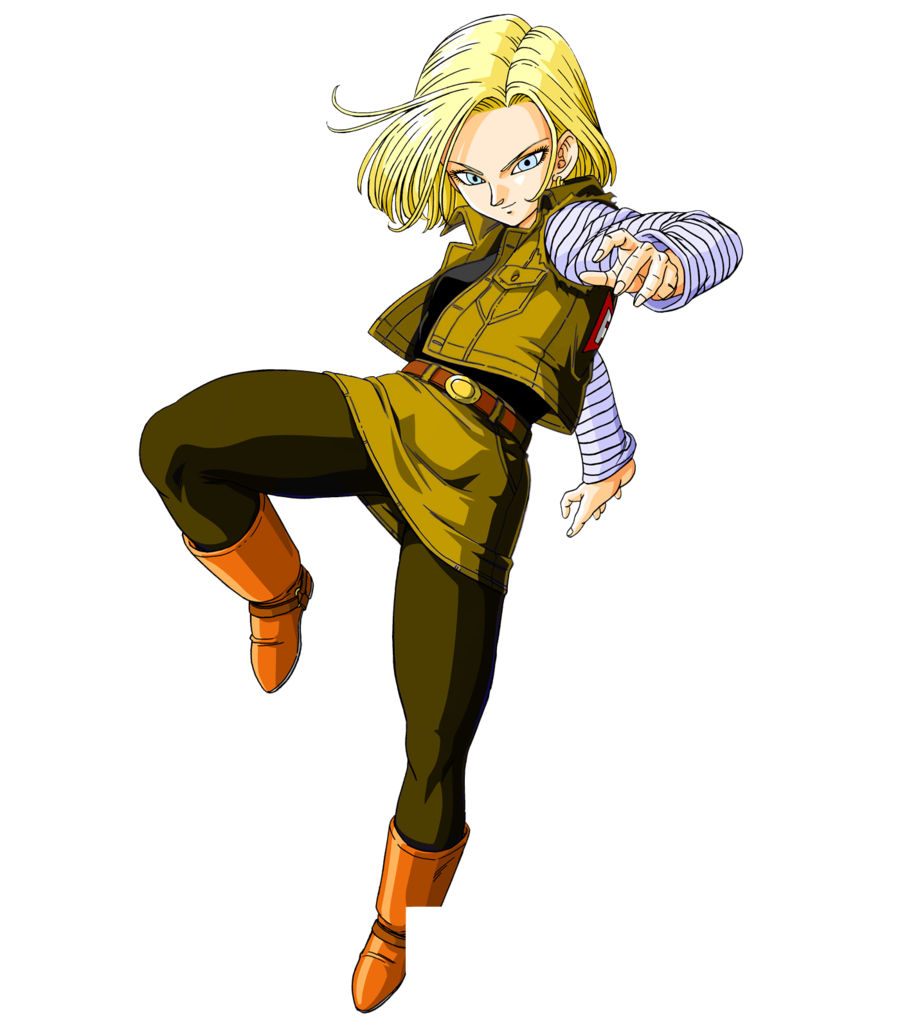Android 18 png. Image ultimate dragon ball