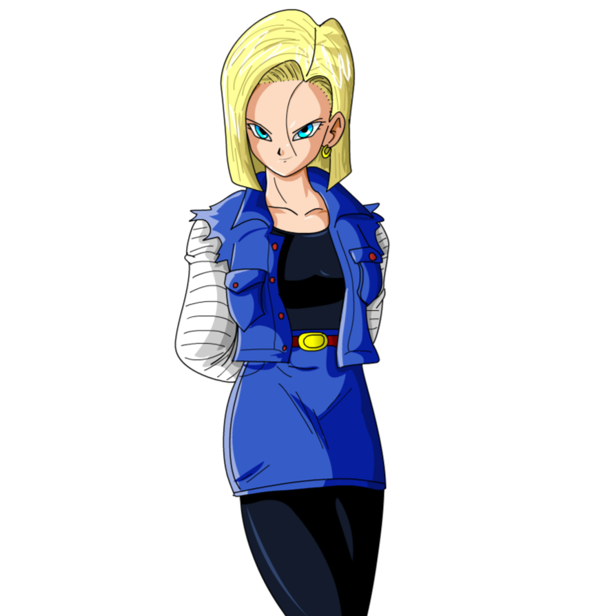 Android 18 png. Image fighters of lapis