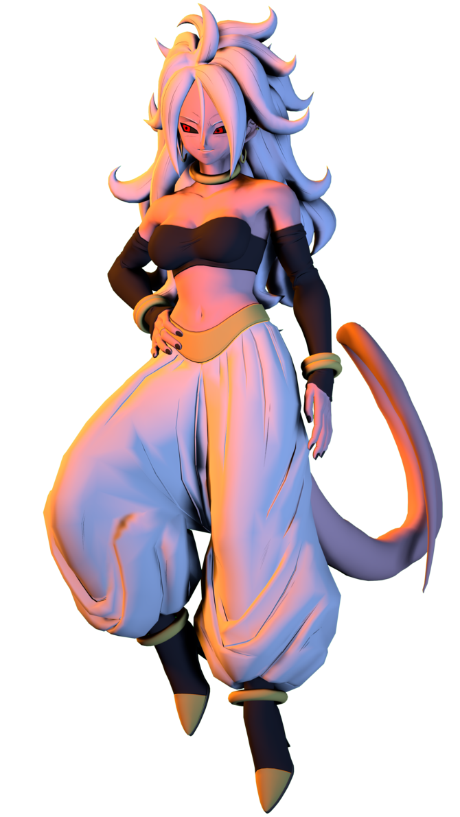 Android 21 png. By legoguy on deviantart