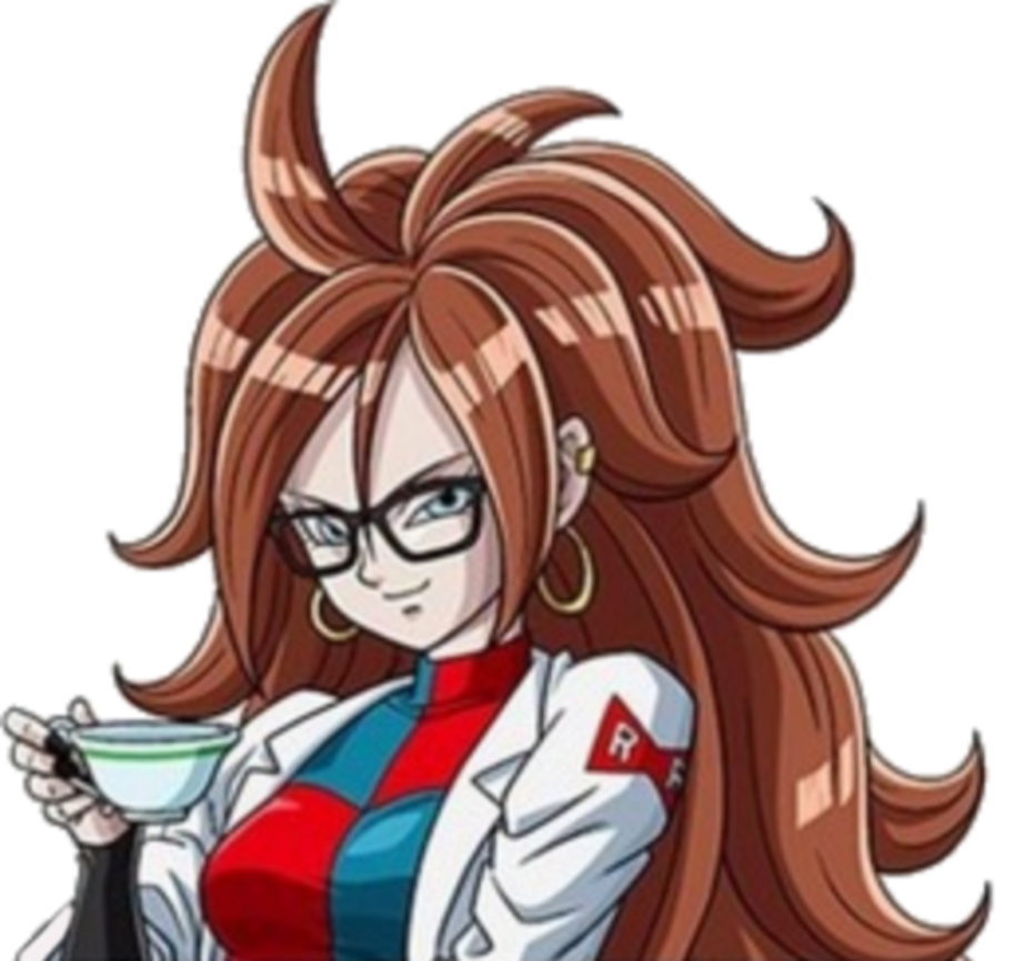 Android 21 png. By ltdtaylor on deviantart