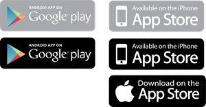 And google play logo. App store download button png freeuse stock