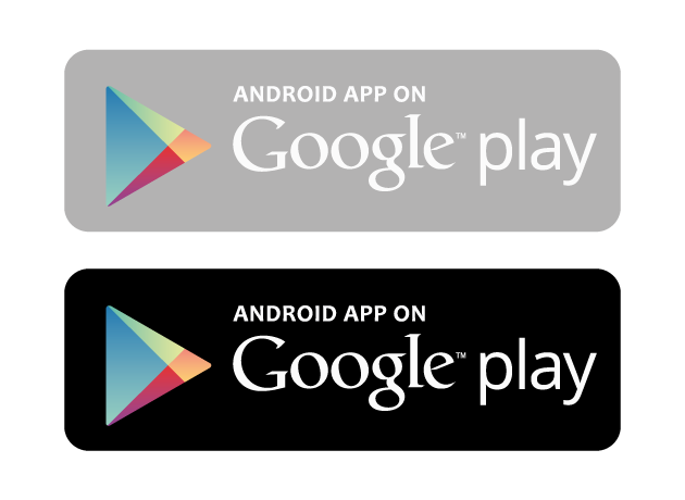 Android app store logo png. Get it on google