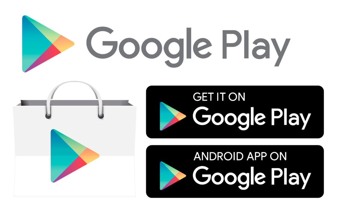 Android app store png. Google play icon and