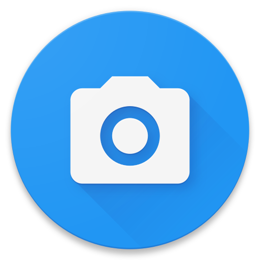 Vector screening tablet. Free camera icon android
