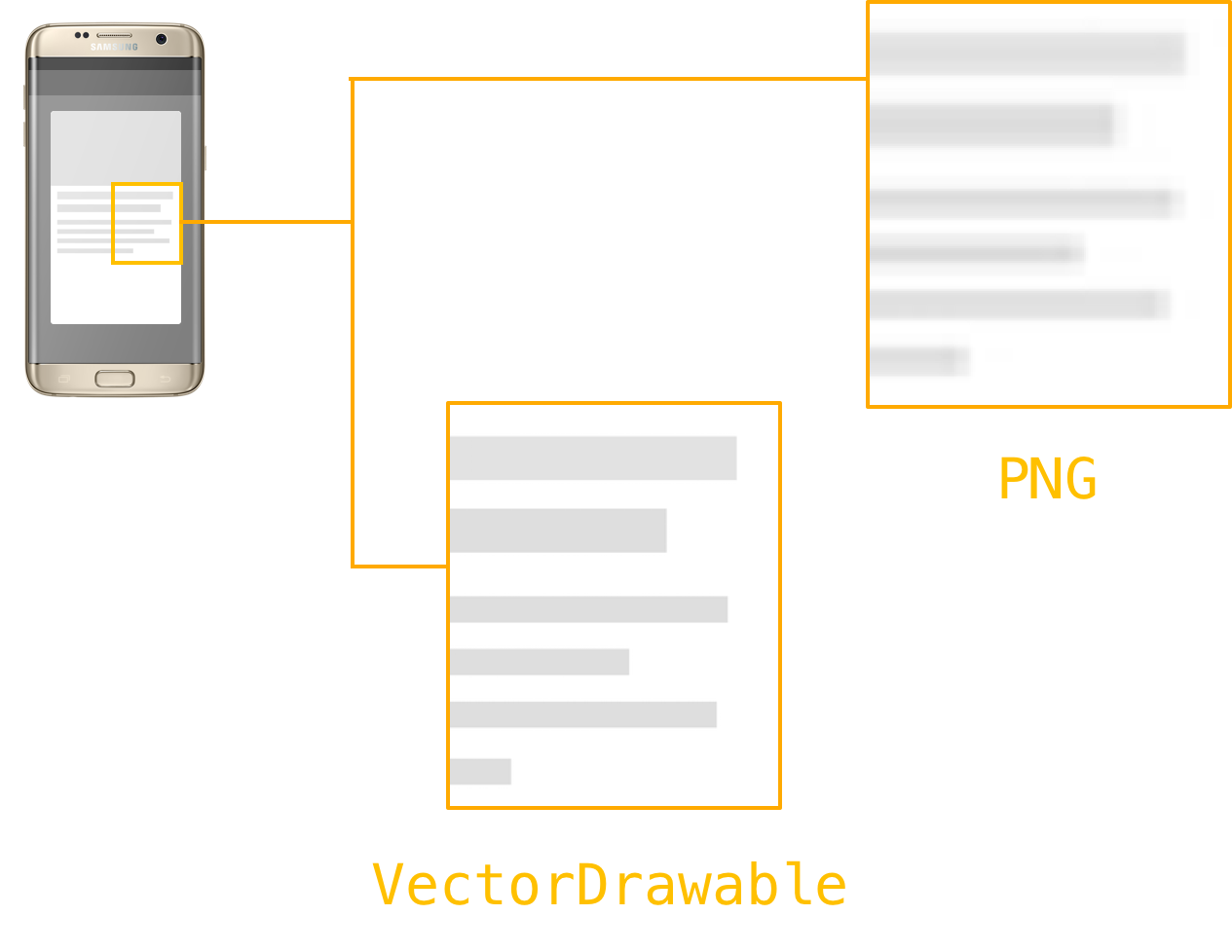 Optimizing the performance of. Android drawable png graphic black and white