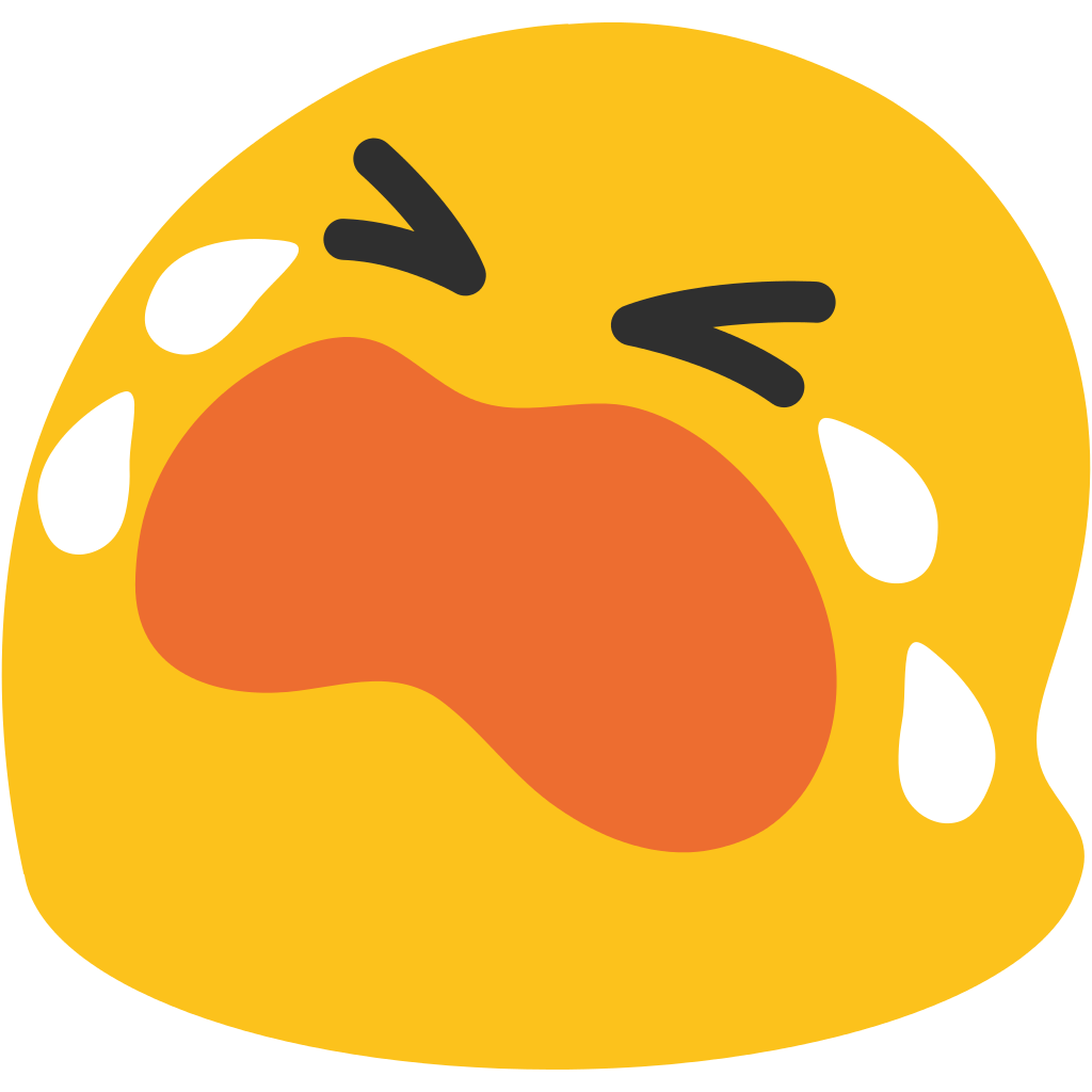 Android emojis png. Emoticon crying transparent stickpng
