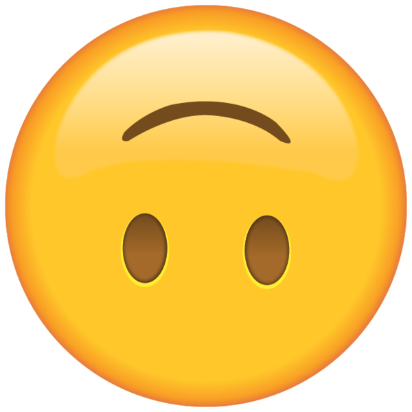Emojis whatsapp png. Download upside down face