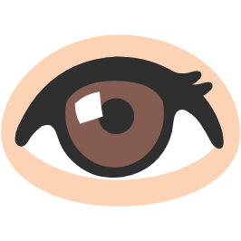 Android eye png. Emoji eyes