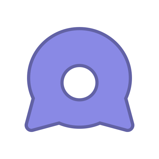 Android eye png. Bot points purple round