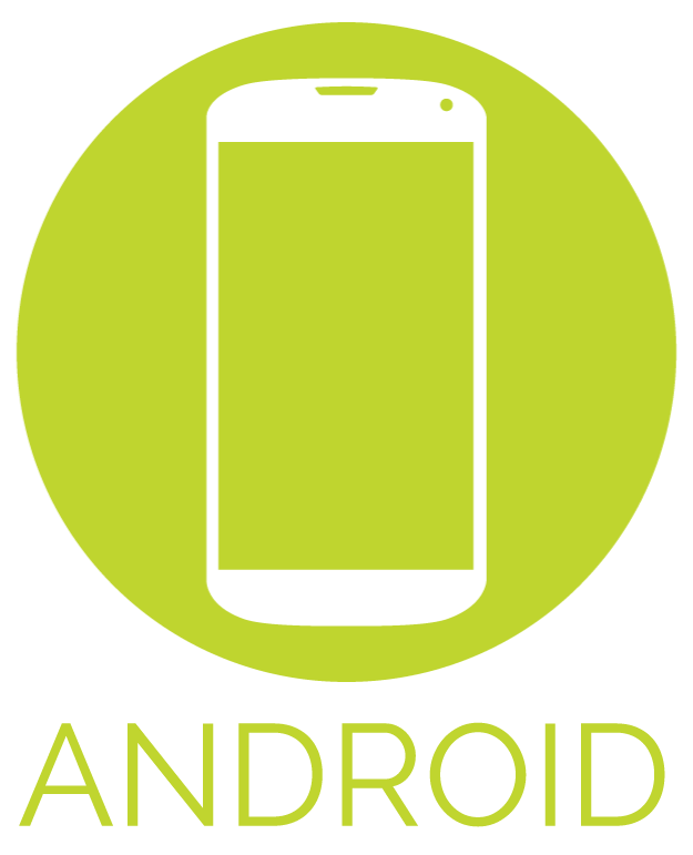 Phone icon and backgrounds. Android icons png free download banner freeuse library