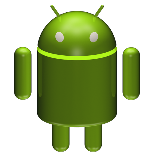 android 3d png