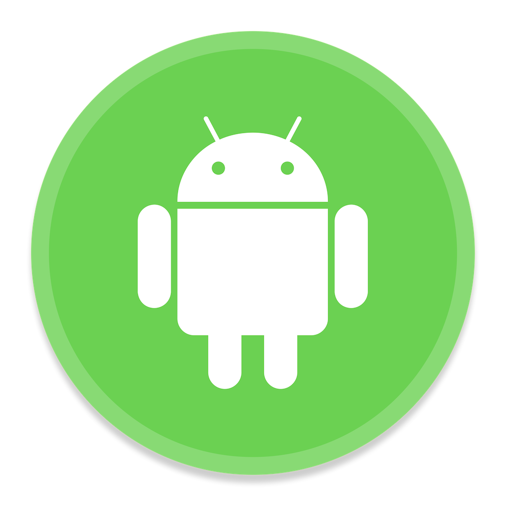 Android market icon png. Filetransfer button ui app