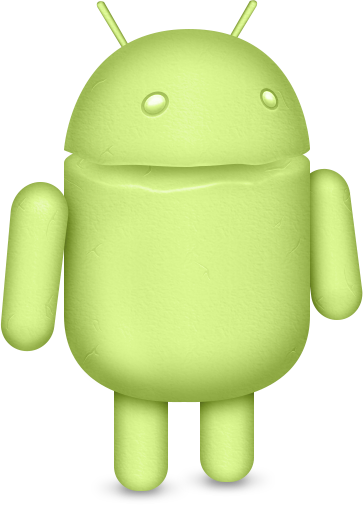 Android marshmallow png. Dribbble mascot green by