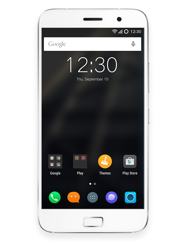 Android mobile png. White image