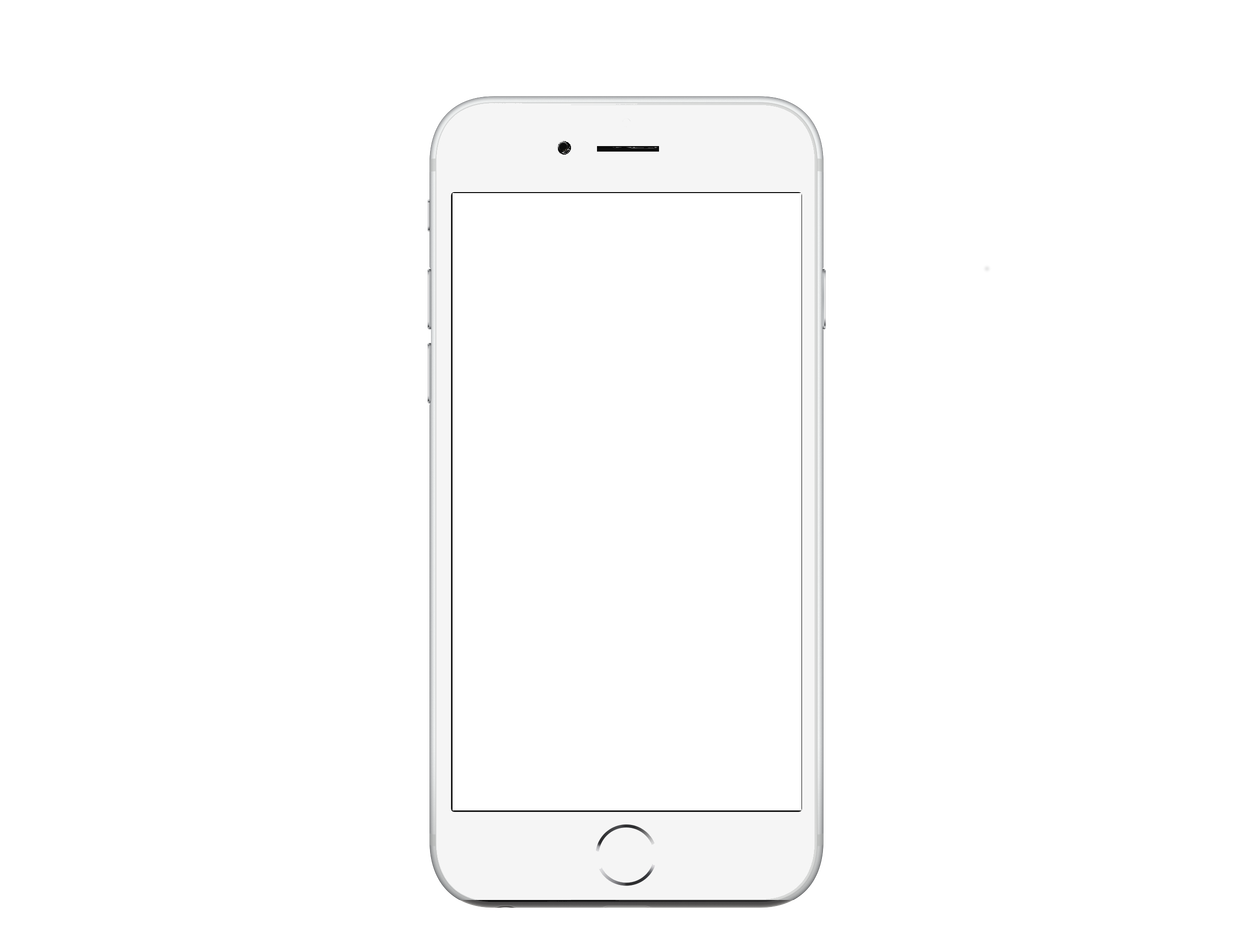 Android mobile png. Iphone telephone white transprent