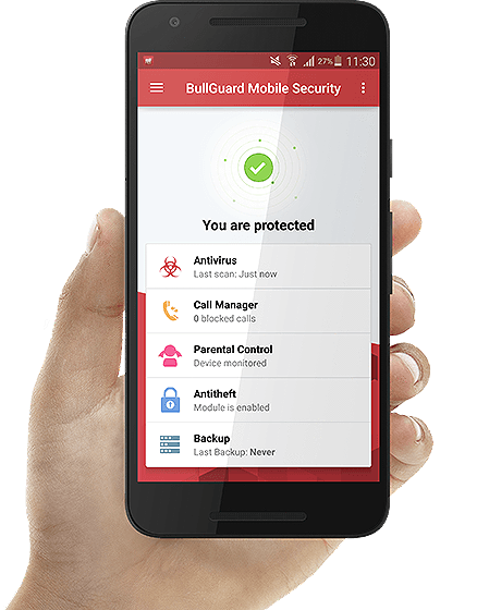 Android mobile png. Bullguard tablet antivirus intersecure
