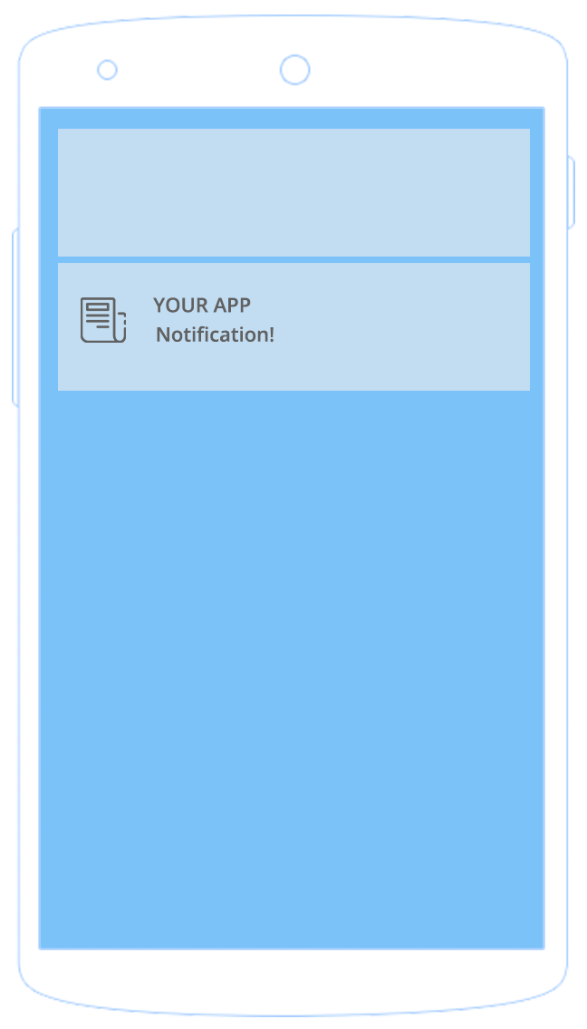 Android notification bar png. Push icon for staffbase