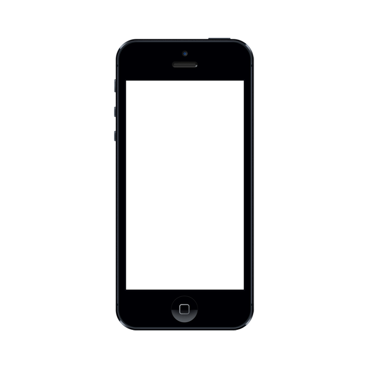 Iphone frame png. Mockuphone cell phone mockup