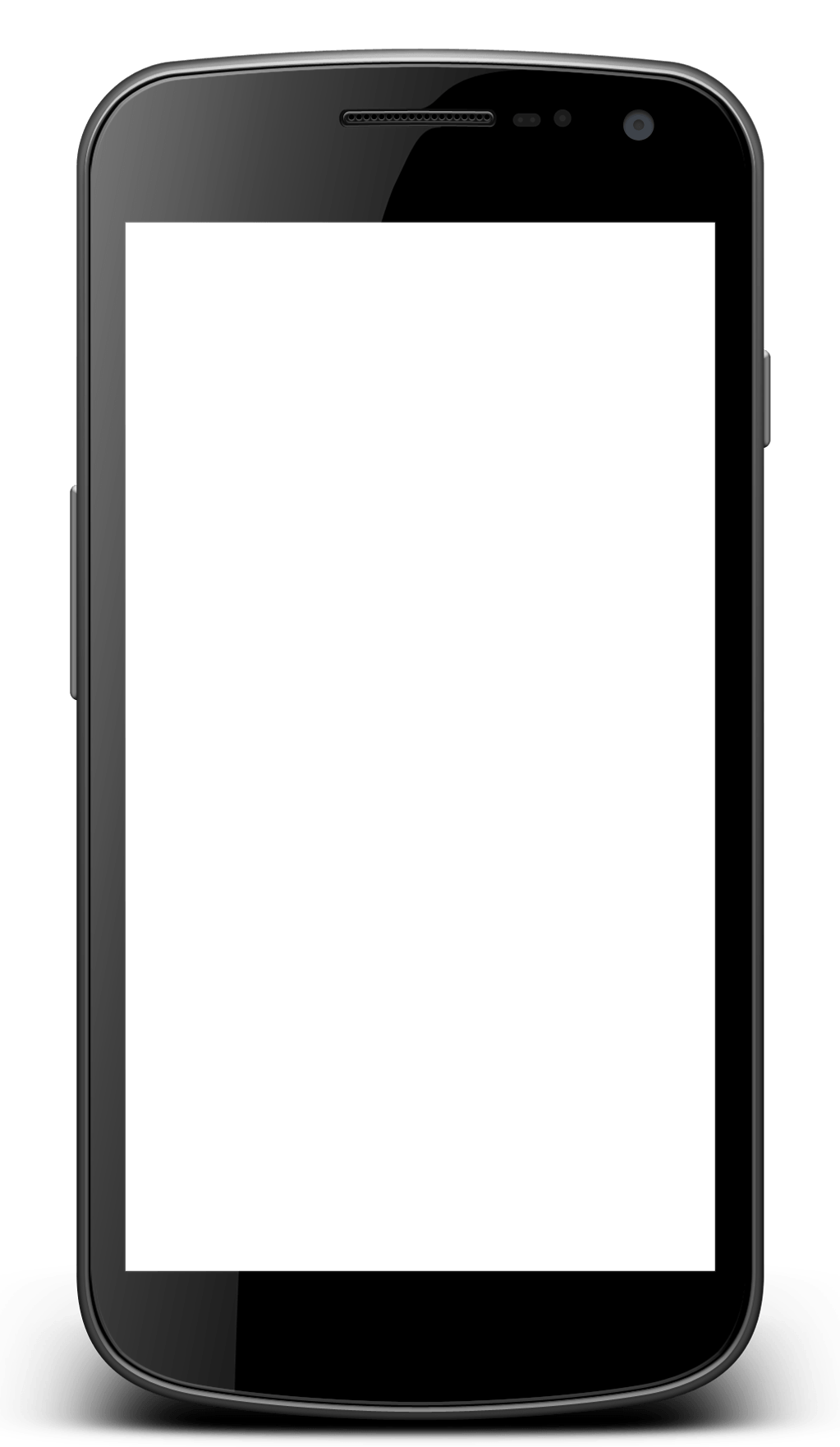 Android phone png. Transparent stickpng