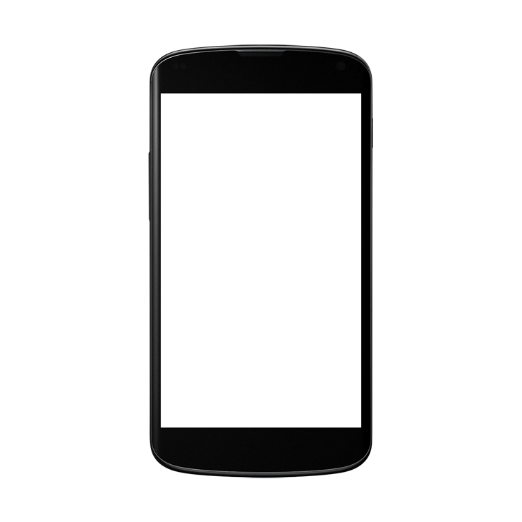 Android phones transparent images. Phone frame png picture library download