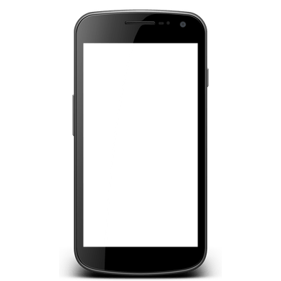 Blank smartphone png. Android phones transparent images