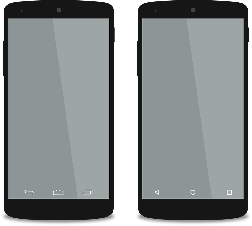 Android Phones transparent PNG images
