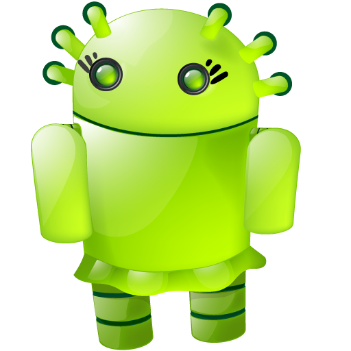 Android png icons. Girl icon large softicons