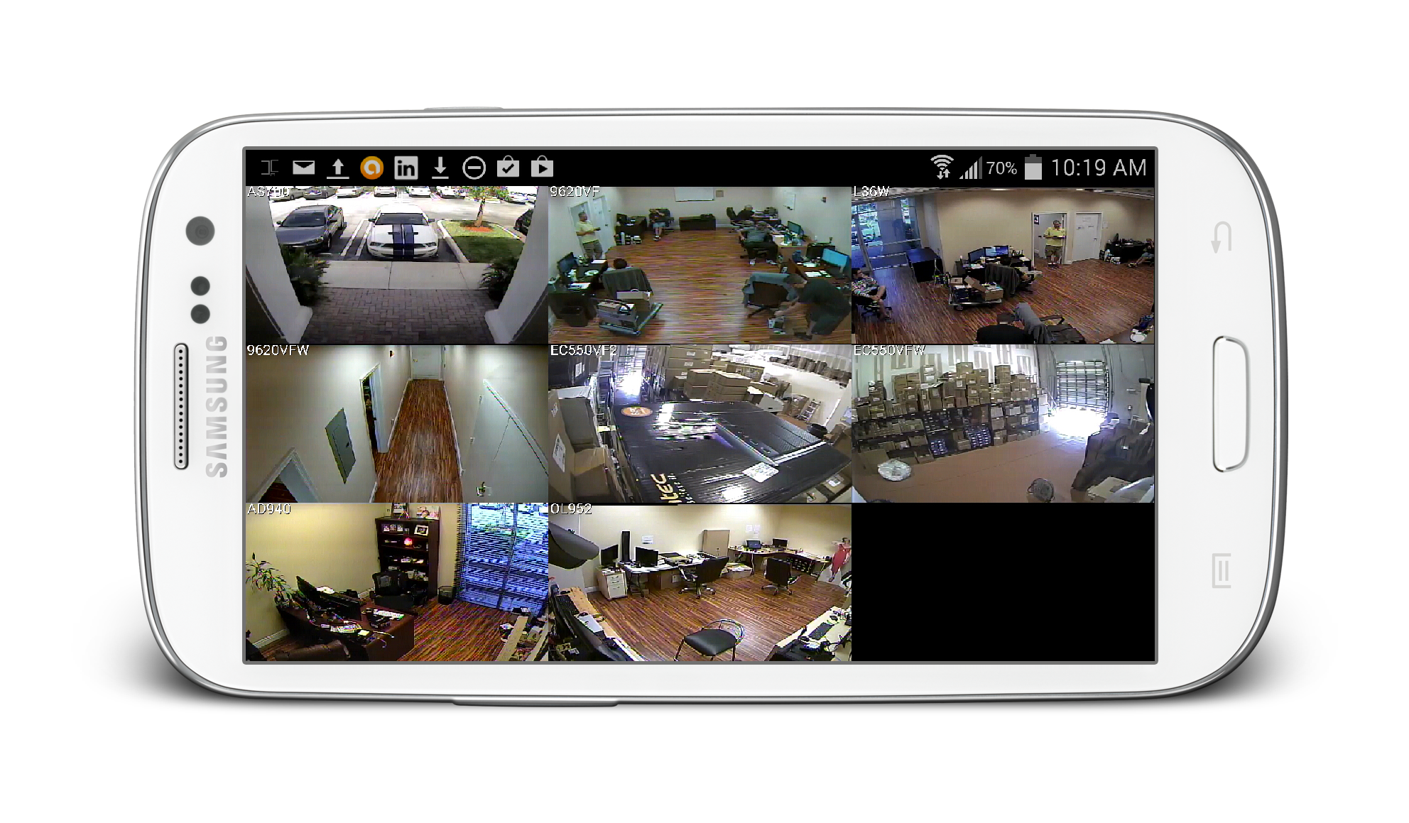 Surveillance camera recording png. View security cameras from