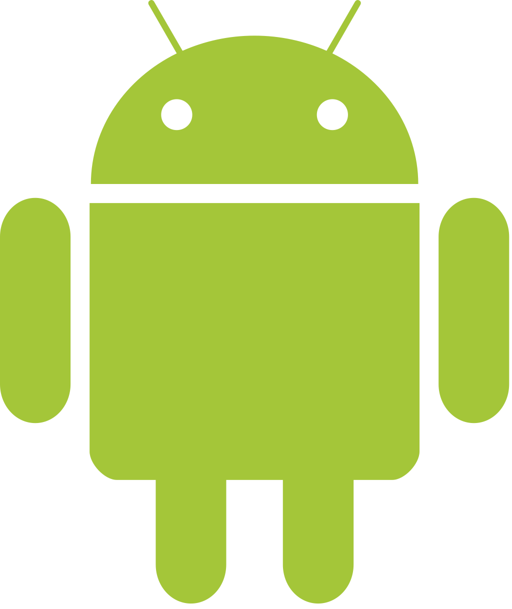 File robot wikimedia commons. Android drawable png clip art black and white