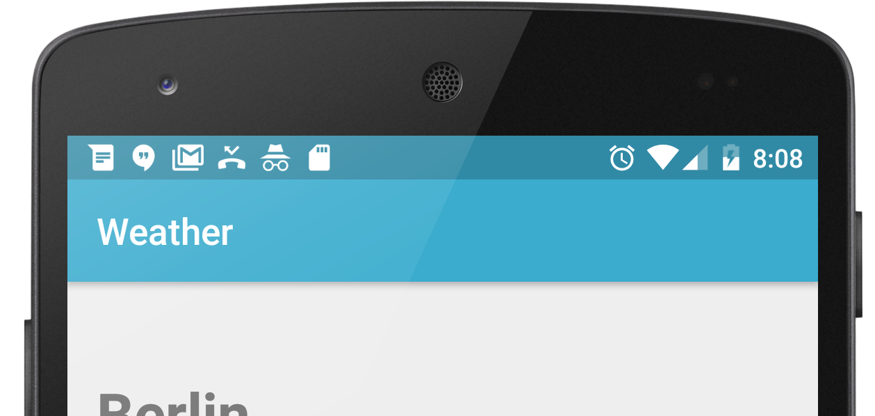 Android status bar png. Clean your like a