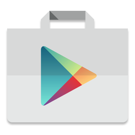 Android store png. Play icon lollipop iconset