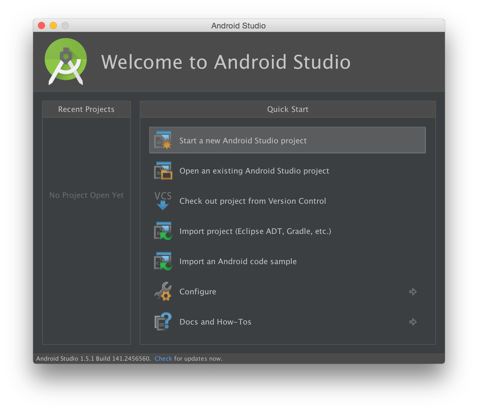 Android studio import png. How to get started